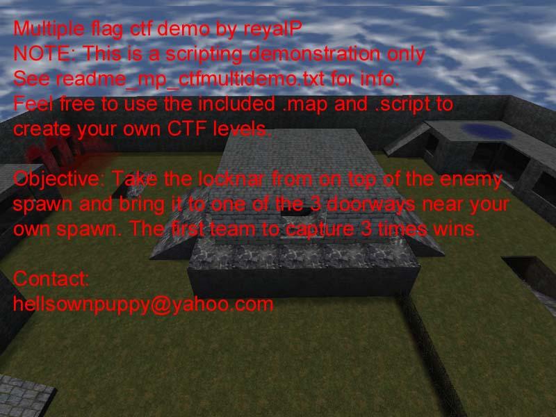 RTCW Map Downloader - Map Details - mp_ctfmultidemo pk3